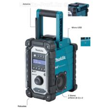 Аккумуляторное радио Makita DMR110