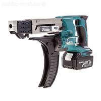 Аккумуляторный магазинный шуруповерт Makita DFR550RFE