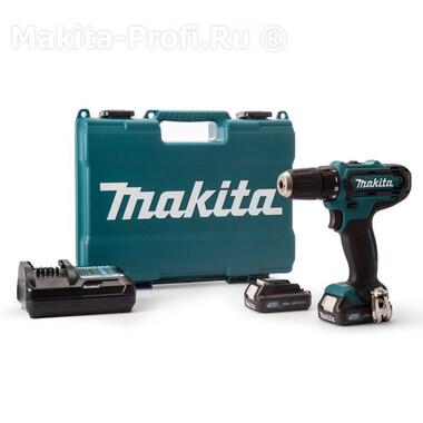 Аккумуляторная дрель-шуруповерт 10.8 В Makita DF331DWAE фото