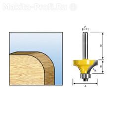 Фреза кромочная для закруглений Makita D-11215