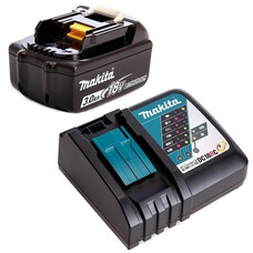 Аккумулятор BL1830B + быстрое зарядное устройство DC18RC Makita 191A25-2