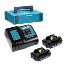 Аккумулятор BL1815N 2 шт.+ зарядное устройство DC18SD Makita 197143-8