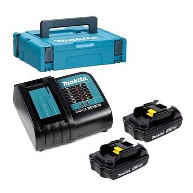 Аккумулятор BL1815N 2 шт.+ зарядное устройство DC18SD Makita 197143-8 фото