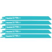 Полотно для сабельных пил 5 шт. Makita B-16782 (BIM, 200мм/1.4 мм, для нержав. стали и железа)