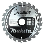 Диск пильный Makita B-31566 (Standard, 190х30х2.2 мм, 24 зуб, по дереву)
