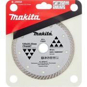 Диск алмазный сплошной Turbo Makita B-28058 (125х22.23/20 мм, для стр. материалов)