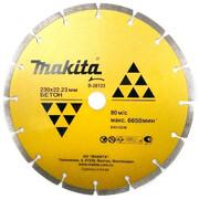 Диск алмазный сегментный Economy Makita B-28123 (230х22.23 мм, для стр. материалов)