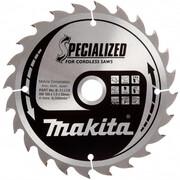 Диск пильный Makita B-31158 (165х20х1.6 мм, 24 зуб, для акк. диск. пил)