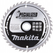 Диск пильный Makita B-31164 (165х20х1.6 мм, 40 зуб, для акк. диск. пил)