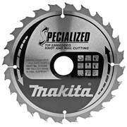 Диск пильный Makita B-31289 (190х30х2 мм, 24 зуб, д/диск пил, по дер. с гвоздями)