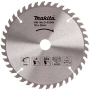 Диск пильный Makita D-45892 (Standard, 165х20х2.0 мм, 40 зуб, по дереву)