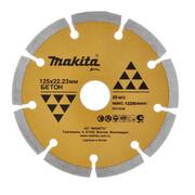 Диск алмазный сегментный Economy Makita D-41698 (230х22,23 мм, сух. рез для бетона)