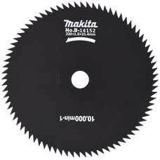 Нож 80-ти зубый Makita B-14152 (для EBH253,EBH341,RBC411)