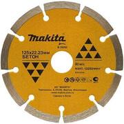 Диск алмазный сегментный Economy Makita B-28092 (125х22.23/20 мм, для стр. материалов)