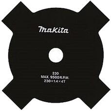 Нож для травы, 4 зуба, d- 230x25,4 мм Makita DA00000181
